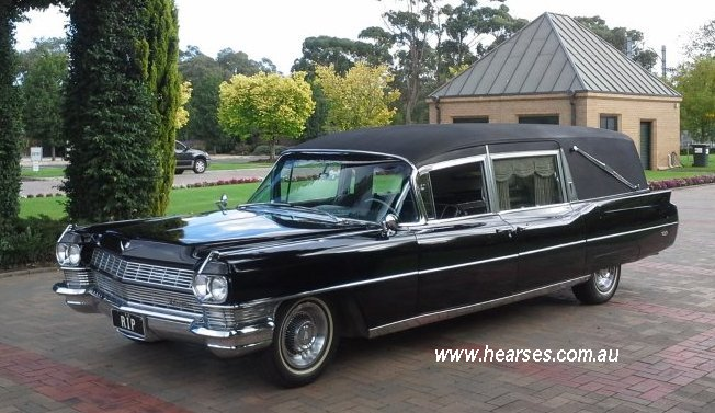 1964 Cadillac Hearse for Hire